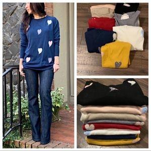 Sweaters - ✨LAST ONE ✨PARIS✨HEARTS SWEATER